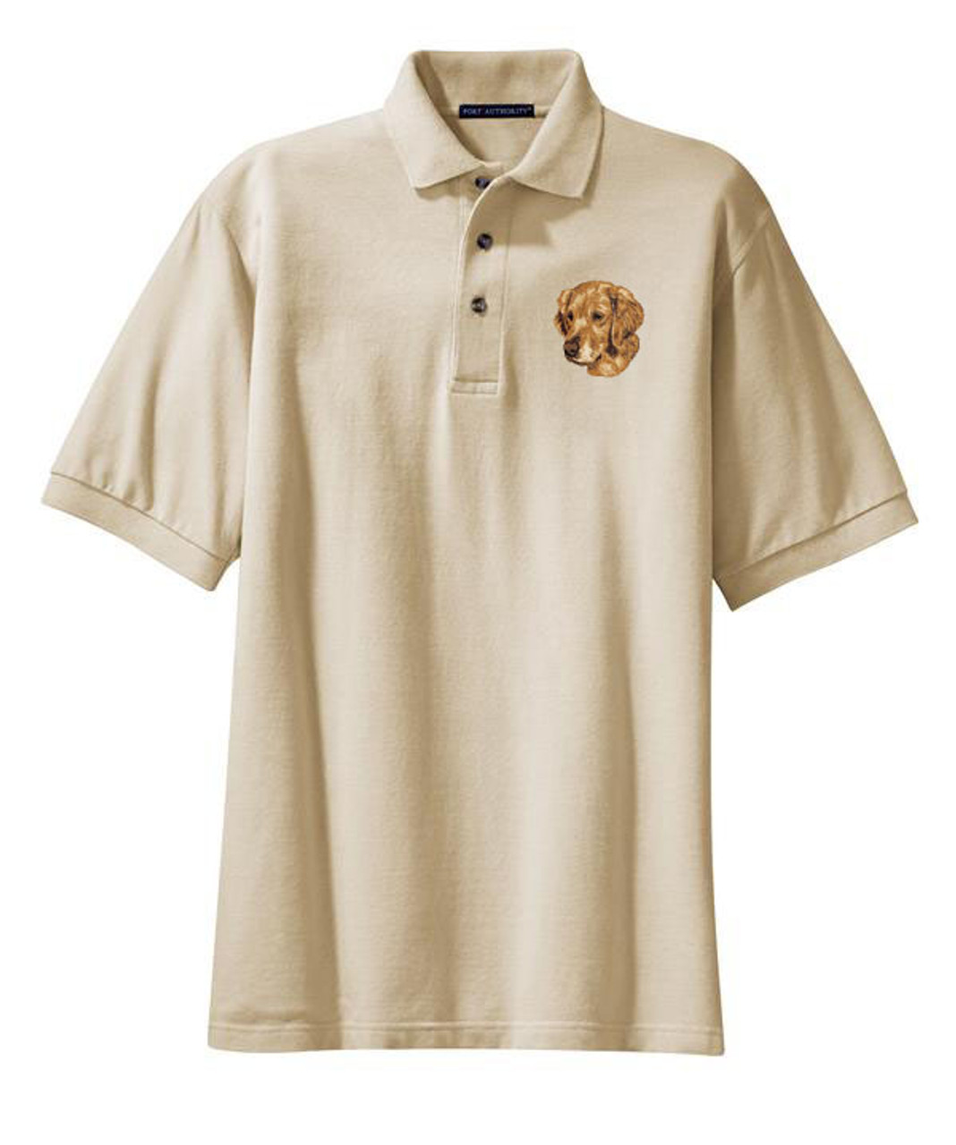 Golden Retriever Embroidered /& Personalised Polo Shirt Dog