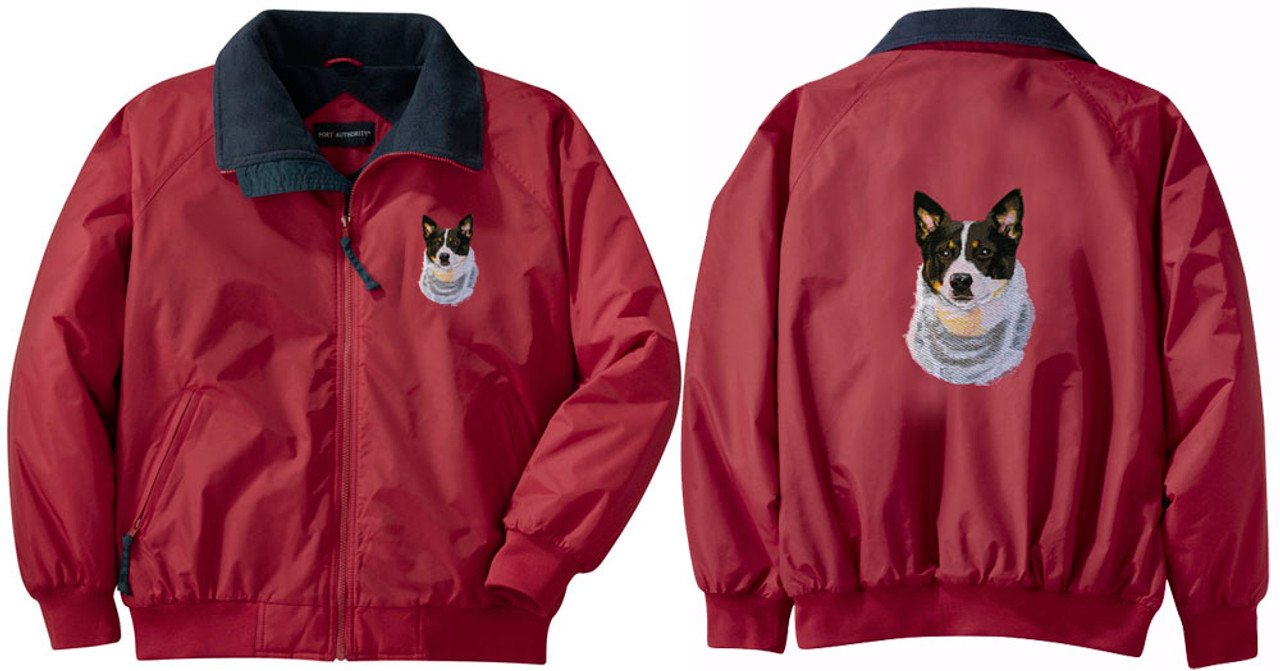 WELSH TERRIER embroidered Challenger jacket ANY COLOR B