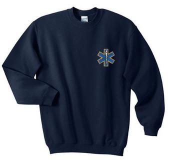 EMT Embroidered Crewneck Sweatshirt