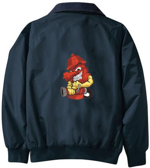 Firefighter Embroidered Jacket