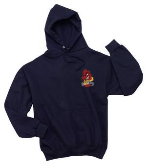 EMT EMS Embroidered  Hooded Sweatshirt