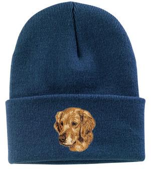 Golden Retriever Knit Cap