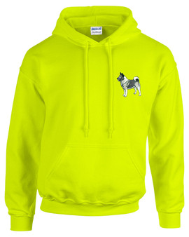 Norwegian Elkhound Hooded Sweatshirt