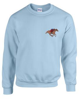 Horse Racing Crewneck Sweatshirt