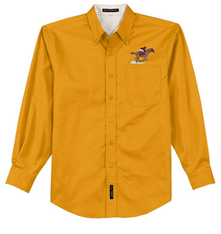 Horse Racing Easy Care Shirt