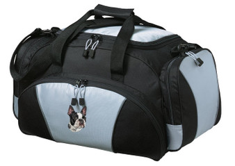 Boston Terrier Duffel Bag