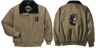 Rottweiler Jacket Front Left Chest & Back
