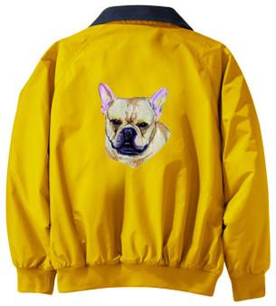 French Bulldog Jacket Back