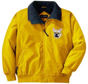 French Bulldog Jacket Front Left Chest