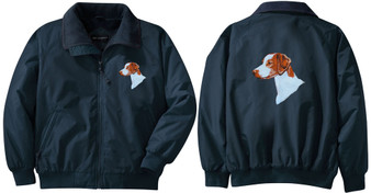 Brittany Jacket Back and Front Left Chest