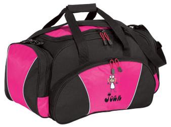 Nurse Duffel Bag  Font shown on bag is BELLBOTTOMS