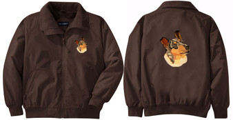 Collie Jacket Back & Front Left Chest