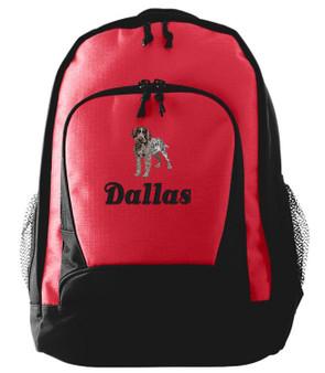 German Wirehair Backpack