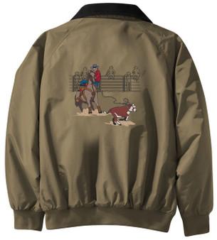 Calf roping jacket