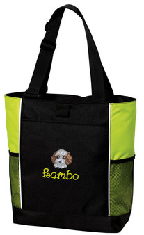 Cockapoo Panel Tote