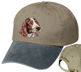 Welsh Springer Spaniel Personalized Hat