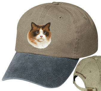 Ragdoll personalized hat