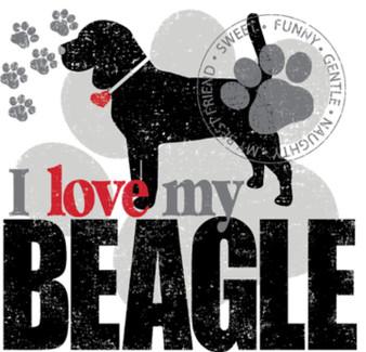 Love my Beagle T-shirt
