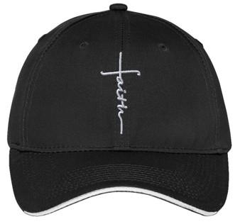 Faith Embroidered Cap - Embroidered Faith