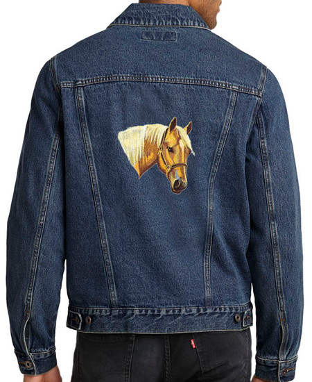 CHESAPEAKE BAY RETRIEVER embroidered denim shirt XS-XL