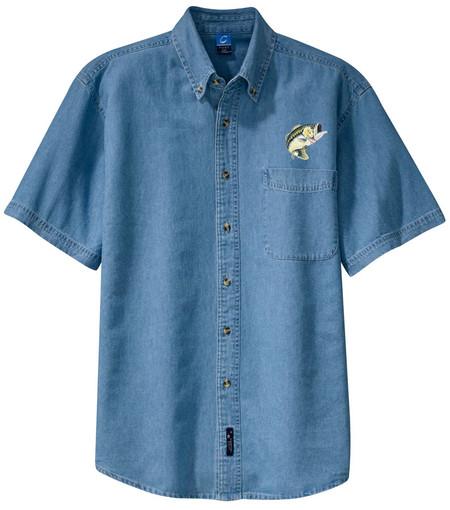 FOXHOUND embroidered denim shirt XS-XL