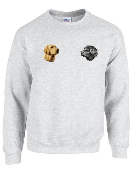 d33051b30abc Personalized Black Labrador Retriever Sweatshirt