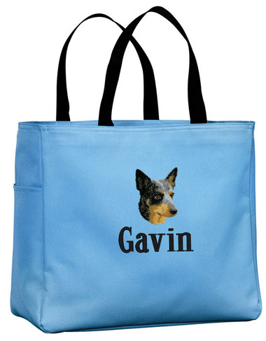 Personalized Australian Cattle Dog Tote Bag