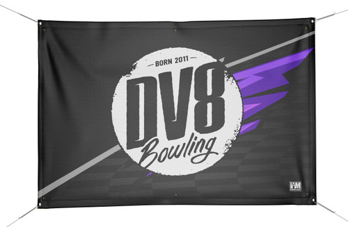 DV8 DS Bowling Banner - 2026-DV8-BN