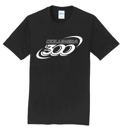Columbia 300 T-Shirt - White Logo - 5 Colors