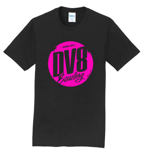 DV8 T-Shirt - Pink Logo - 1 Color