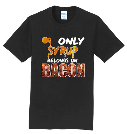 Team Bohn T-Shirt - Syrup and Bacon Design - 3 Colors