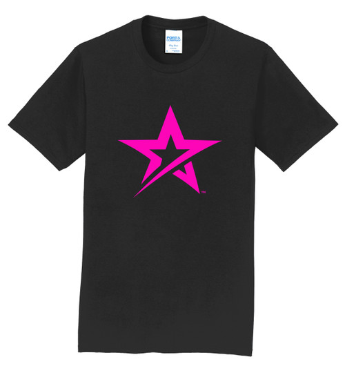 Roto Grip T-Shirt - Pink Star Logo - 1 Color