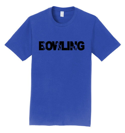 I AM Bowling T-Shirt - Bowling Black Logo - 4 Colors