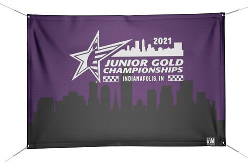 Jr Gold 2021 Official DS Bowling Banner - JG036-BN