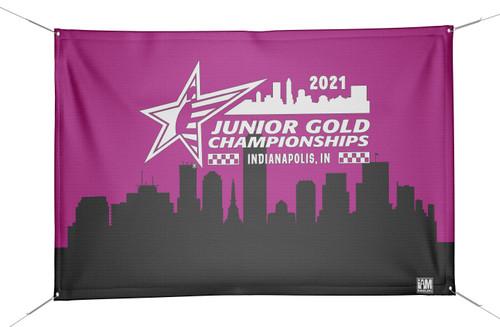 Jr Gold 2021 Official DS Bowling Banner - JG037-BN