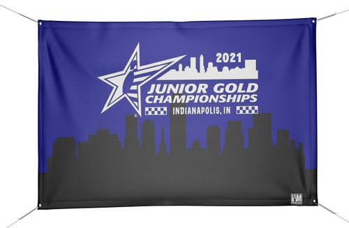 Jr Gold 2021 Official DS Bowling Banner - JG038-BN