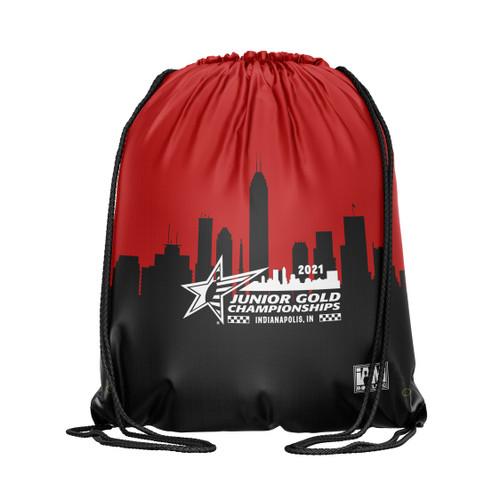 Jr Gold 2021 Official DS Bowling Drawstring Backpack - JG035-DB