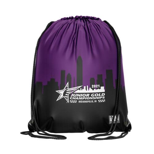 Jr Gold 2021 Official DS Bowling Drawstring Backpack - JG036-DB