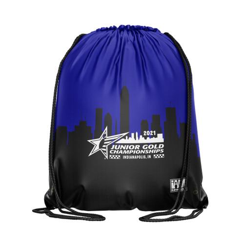 Jr Gold 2021 Official DS Bowling Drawstring Backpack - JG038-DB