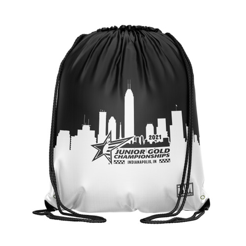 Jr Gold 2021 Official DS Bowling Drawstring Backpack - JG039-DB