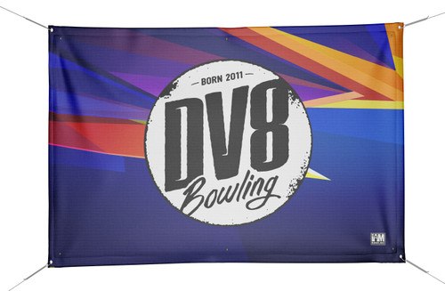 DV8 DS Bowling Banner - 2001-DV8-BN