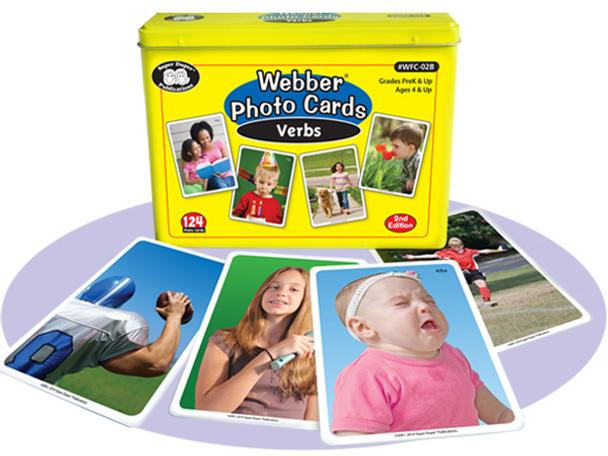 Webber Photo Cards Verbs Double Set