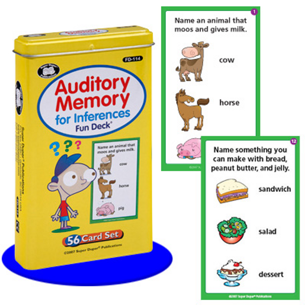 Auditory Memory for Inferences