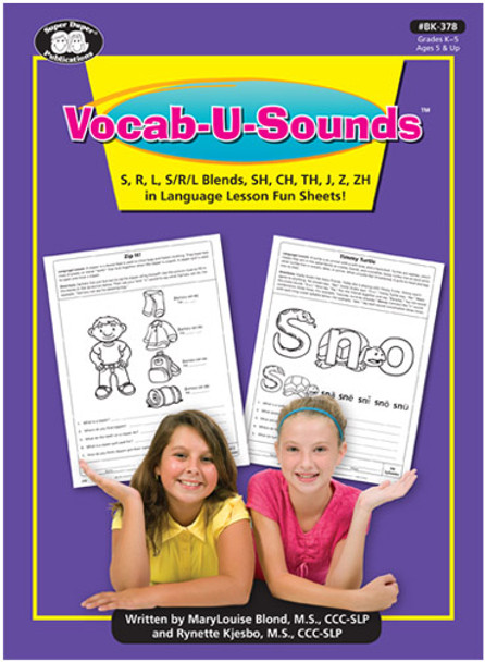 Vocab-U-Sounds Fun Sheets