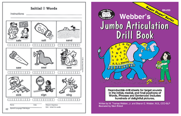 Webber's Jumbo Articulation Drill Book