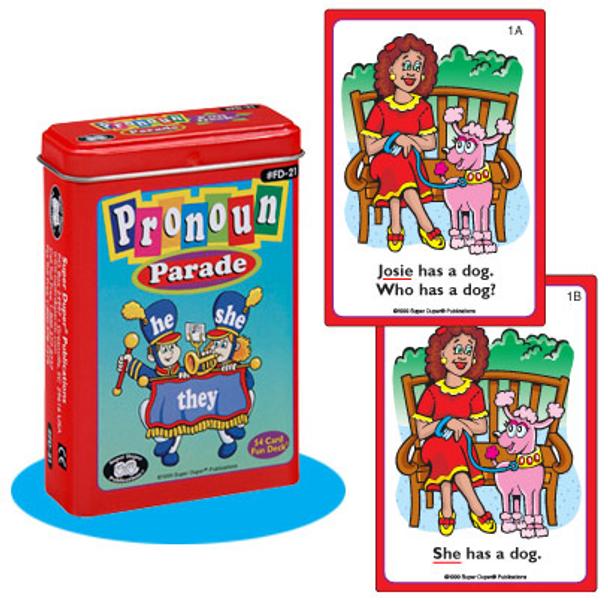 Pronoun Parade