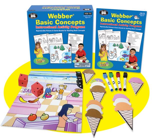 Webber Basic Concepts Instructional Activity Program