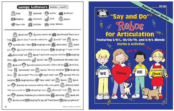 Say & Do Rebus For Articulation