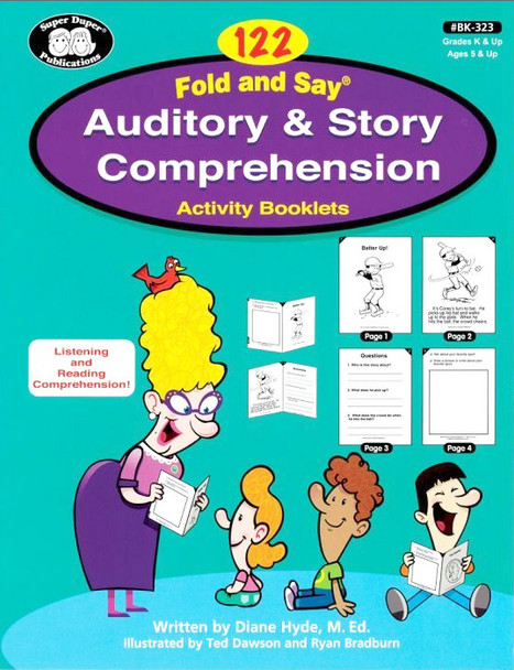 122 Fold and Say Auditory and Story Comprehension