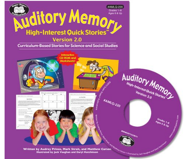 Auditory Memory for High Interest Quick Stories